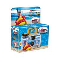 Für weitere Info hier klicken. Artikel: Agfaphoto Le BOX Ocean Einwegkamera 400 27 Aufnahmen, wasserfest bis auf 3m