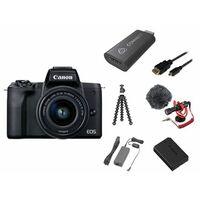 Für weitere Info hier klicken. Artikel: Canon EOS M50 Mark II Premium Livestream Kit