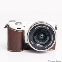 Für weitere Info hier klicken. Artikel: Ciesta Sony NEX-5R Kamerahülle dunkelbraun