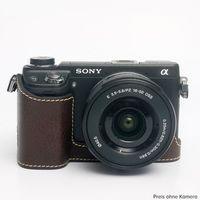 Für weitere Info hier klicken. Artikel: Ciesta Sony NEX-6 Kamerahülle dunkelbraun