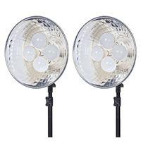 Für weitere Info hier klicken. Artikel: Dörr Dauerlicht DL-400 mit 4x10W LED Birnen 2-er Kit