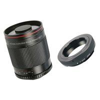 Für weitere Info hier klicken. Artikel: Dörr Spiegel-Tele 500mm f/8,0 mit T2 Adapter Canon EF