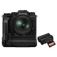 Für weitere Info hier klicken. Artikel: Fujifilm X-T4 + XF 16-80mm - Power Kit schwarz