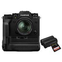 Für weitere Info hier klicken. Artikel: Fujifilm X-T4 + XF 18-55mm - Power Kit schwarz
