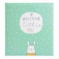 Für weitere Info hier klicken. Artikel: goldbuch Babyalbum little one 60 weiße Seiten mint 300x310x40 mm