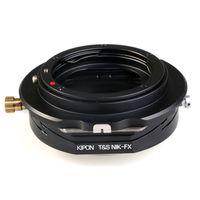 Für weitere Info hier klicken. Artikel: Kipon T-S Objektivadapter Fujifilm X Nikon F