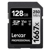 Für weitere Info hier klicken. Artikel: Lexar Professional SDXC-Card 1667x UHS-II, U3, V60, 250MB/s 128 GB