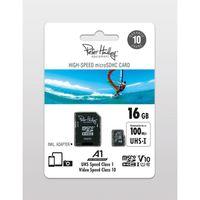 Für weitere Info hier klicken. Artikel: Peter Hadley High-Speed microSDHC Cl10 UHS-I, U1, V10 (100/35 MB/s) 16 GB