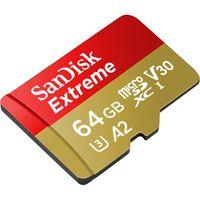 Für weitere Info hier klicken. Artikel: SanDisk Extreme, microSDXC, UHS-I, U3, A2, V30,160MB/s 64 GB