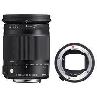 Für weitere Info hier klicken. Artikel: Sigma AF 18-300mm f/3,5-6,3 DC Macro OS HSM C Canon EF-S + Sigma Mount Converter MC-11 Sony E-Mount