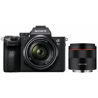 Für weitere Info hier klicken. Artikel: Sony Alpha 7 III (ILCE-7M3) + SEL 28-70mm OSS FE + Samyang AF 45mm F1.8 FE schwarz