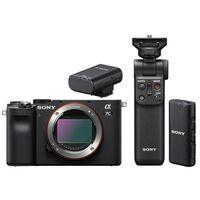 Für weitere Info hier klicken. Artikel: Sony Alpha 7C (ILCE-7C) Gehäuse + Bluetooth Mikrofon + Bluetooth Griff schwarz