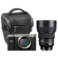 Für weitere Info hier klicken. Artikel: Sony Alpha 7C (ILCE-7C) + Sigma AF 85mm f/1,4 DG DN ART + Manfrotto Halfter Advanced2 S