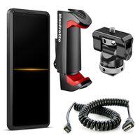 Für weitere Info hier klicken. Artikel: Sony Xperia PRO + Smartphone-Klemme + Smallrig Monitorhalterung + HDMI Kabel