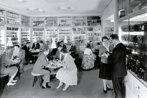 Ladengeschäft Foto Koch ca. 1950