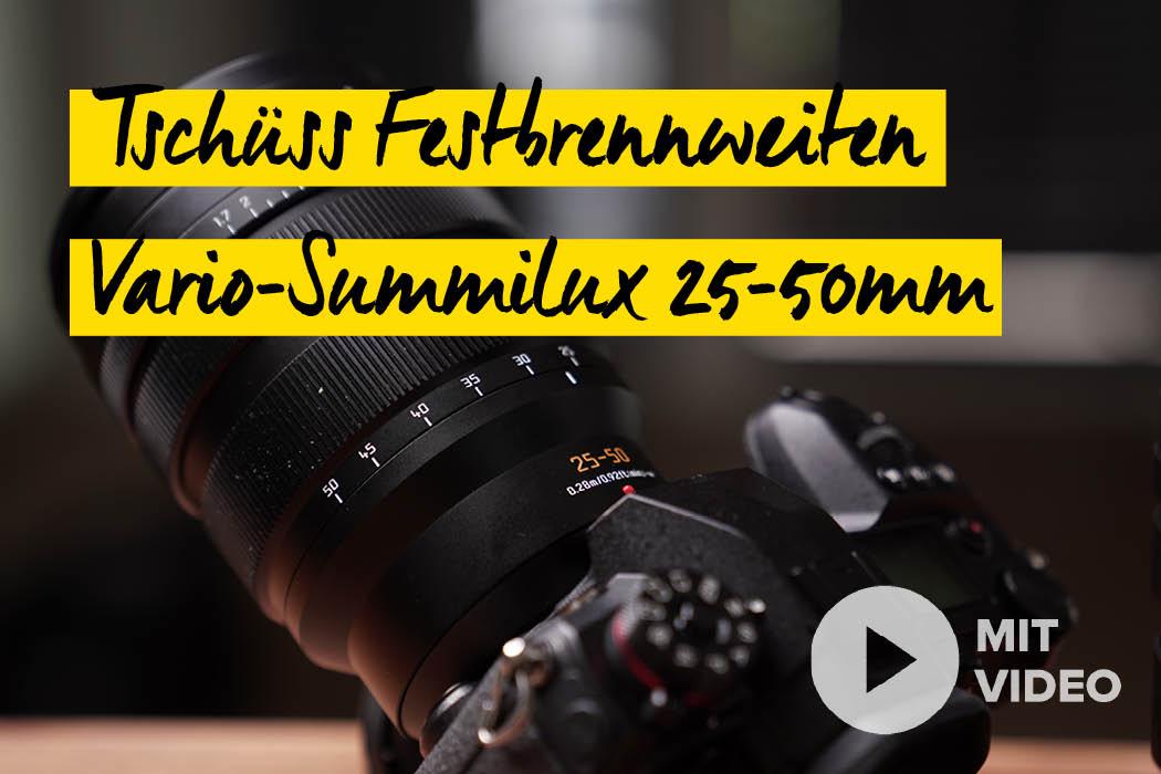 Panasonic Leica 25-50mm