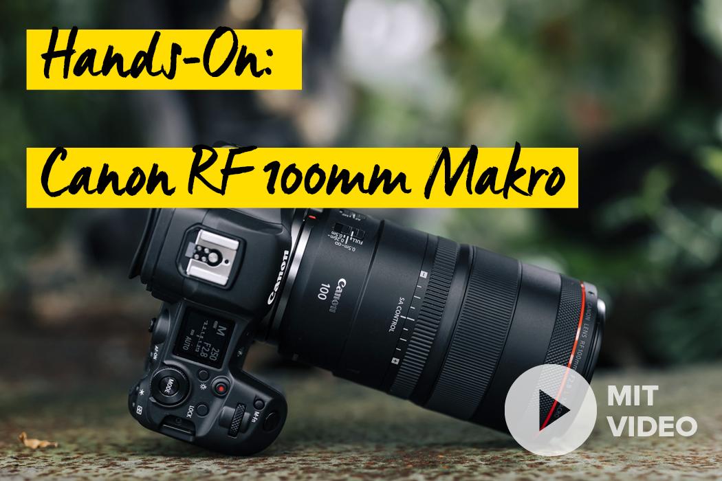 Canon RF 100mm Makro
